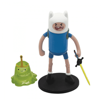 Adventure Time Фин и слизняк 2 в 1 (6 см), Фигурка