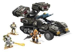 Mega Construx Halo UNSC Wolverine Charge Building Kit
