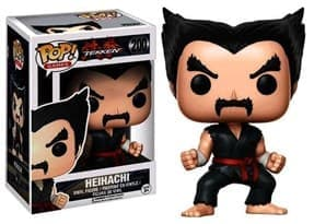 Funko Pop Tekken Heihachi Black Red Judo