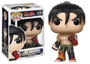 Funko Pop Tekken Jin Kazama / Теккен Дзин Кадзама с черными аксессуарами