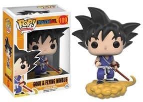 Фигурка Funko POP Dragonball Z: Black Hair Goku Жемчуг Дракона Гоку на летающем нимбусе