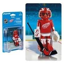 Двигающаяся фигурка NHL Вратарь Детройт Ред Уингз