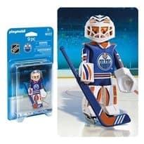 Двигающаяся фигурка NHL Вратарь Эдмонтон Ойлерз