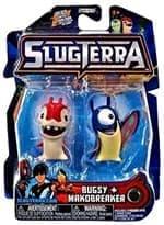 Набор с мини-фигурок Багси и Макобрейкер с мультфильма Слагтерра (Slugterra Mini Figure 2-Pack Burpy and Thugglet) с кодом для игры