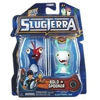 Набор с мини-фигурок Боло и Спукер с мультфильма Слагтерра (Slugterra Mini Figure 2-Pack Bolo & Spooker) с кодом для игры