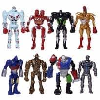 Набор из 8 героев фильма Реальная Сталь (8x Real Steel Movie)