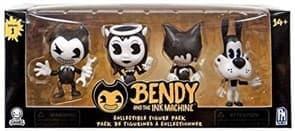 Комплект игрушек Бенди и чернильная машина (Bendy And The Ink Machine) серия 1 по 7 см купить на Super01.ru