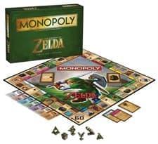 Настольная игра Монополия Легенда о Зельде (The Legend of Zelda Monopoly)