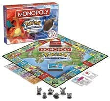 Настольная игра монополия Покемон (USAopoly MONOPOLY: Pokemon Kanto Edition)