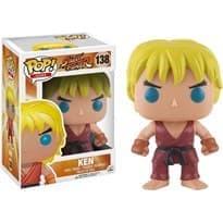 Фигурка Funko POP Street Fighter: Ken (Стрит Файтер Кен) #138