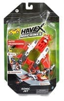 Машинка трансформер Реактивный Самолет (Havex Machines Sonic Jet)