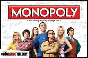 Настольная игра Монополия Теория Большого Взрыва (The Big Bang Theory Monopoly)