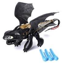Игрушка подвижный Беззубик (Toothless Dragon Blaster) 35 см
