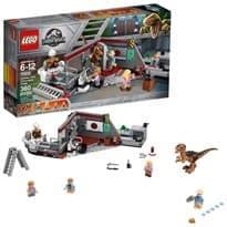 Лего Погоня Велоцираптора (75932 Jurassic World Jurassic Park Velociraptor Chase) 360 деталей