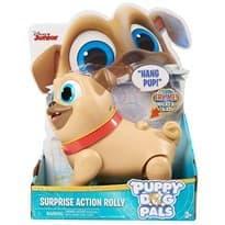 Подвижный Мопс Ролли с мульта Дружные мопсы (Puppy Dog Pals) 12 см купить в Москве