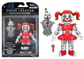 Подвижная игрушка Бейби ФНАФ (Baby Articulated Action Figure)