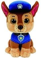 Мягкая игрушка Щенячий патруль Чейз с большими глазами (15 см) купить в Москве