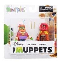 Набор фигурок герои Малыши Маппет (Muppet Babies) 2 фигурки по 5 см