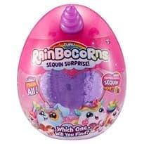 Мягкая игрушка- сюрприз Rainbocorn, фиолетовая