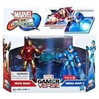 Набор Мегамен Икс и Жезезный Человек (Iron Man & Mega Man X) эксклюзив Target купить в Москве