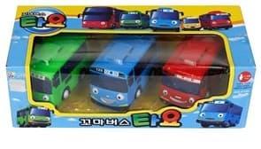 Тайо Маленький Автобус набор из 3 игрушек - Тайо, Рани и Сити