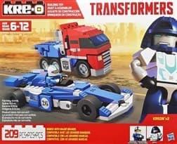 Конструктор Оптимус и Мираж (Transformers Optimus Prime & Mirage) 209 деталей купить