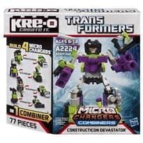 Конструктор Мега Комбинаторы (Transformers Changers Combiners) 77 деталей купить в Москве