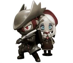 Набор фигурок Охотник и Девушка (BLOODBORNE Vinyl Figure Set) с игры Bloodborne