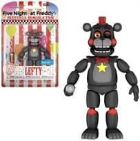 Подвижная фигурка Лефти Фнаф (Pizza Simulator Lefty Action Figure) эксклюзив Walmart 13 см КУПИТЬ