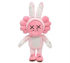 Плюшевая кукла Kaws (Улица Сезам Розовая) купить