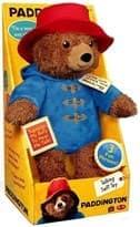 Говорящая плюшевая игрушка Паддингтон 27см из фильма Приключения Паддингтона  купить