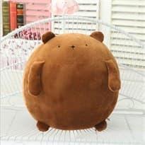 Плюшевая игрушка кролик Моланг коричневый (25 см) купить