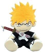 Плюшевая игрушка Ичиго (Bleach Ichigo) из аниме Блич 25 см купить