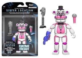 Подвижная игрушка Фантайм Фредди ФНАФ (Funtime Freddy Action Figure)