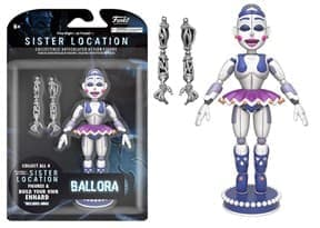 Funko Five Nights at Freddy's Ballora Articulated Action Figure