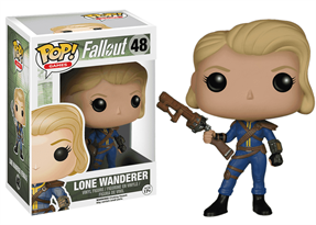 Фигурка Лоун Вандерер Фемэйл (Lone Wanderer Female)  из игры Fallout