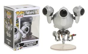 Фигурка Кодсворт (Codsworth) из игры Fallout