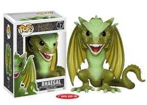 Фигурка Рейгаль (Rhaegal Dragon 15 см) из сериала Игра Престолов № 47