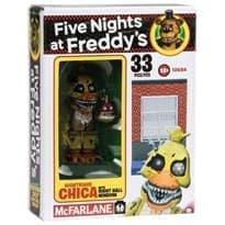 Конструктор Кошмарная Чика из игры Five Nights at Freddy