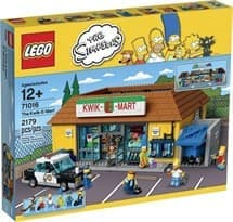 Супермаркет Квик-И-Март (Lego The Simpsons 2179 деталей)