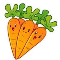 Игрушка Морковь