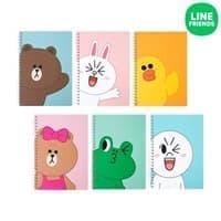 Дневники и блокноты Line Friends (Лайн френдс)