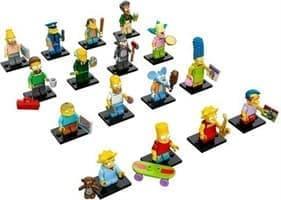 Фигурки Симпсонов (Simpsons) совместимы с Лего