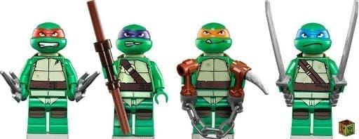 Фигурки Черепашки-ниндзя совместимые с Лего