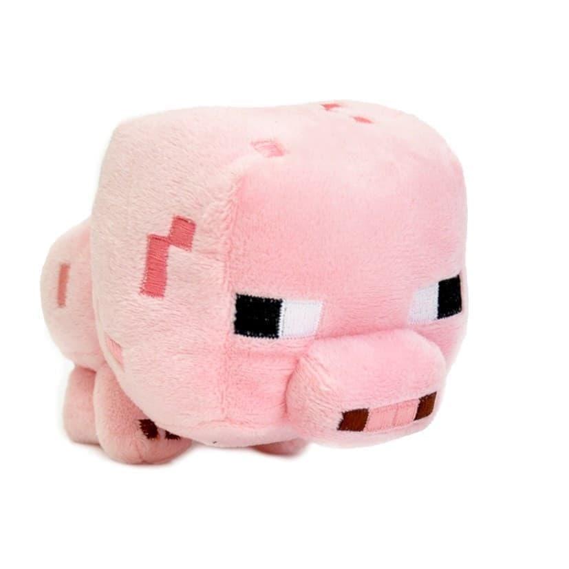 """Плюшевая игрушка """"Minecraft Baby Pig"""" Майнкрафт Поросенок купить в Москве"""