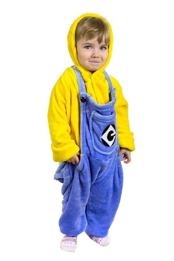 62d786b7537c Детская пижама Кигуруми Миньон - купить недорого в интернет-магазине ...
