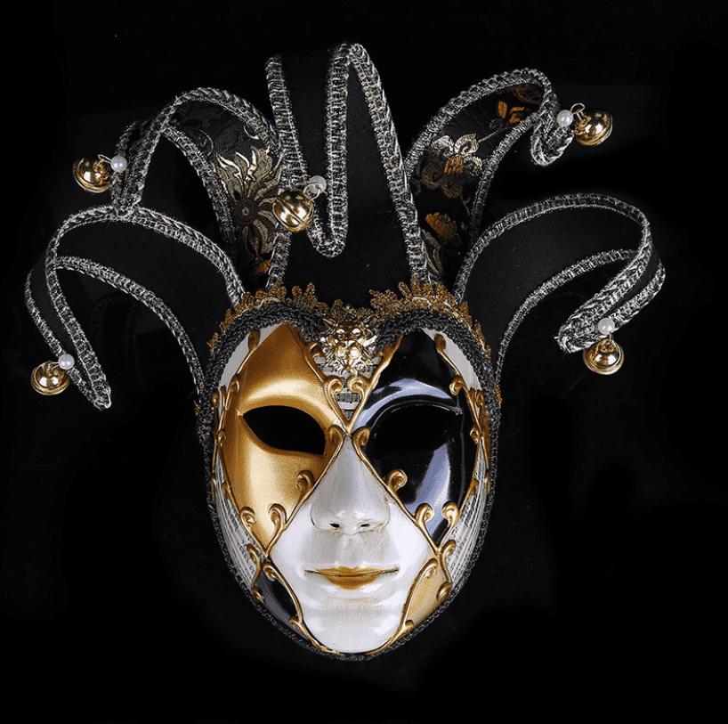 Картинка с маской в венецианском стиле