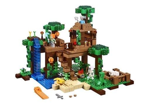 Лего Minecraft - Домик в джунглях 706 деталей - фото 10115