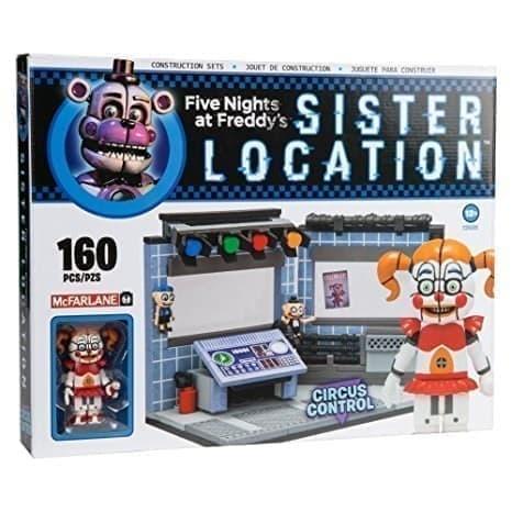 Лего FNAF Circus Control (160 деталей) - фото 10192