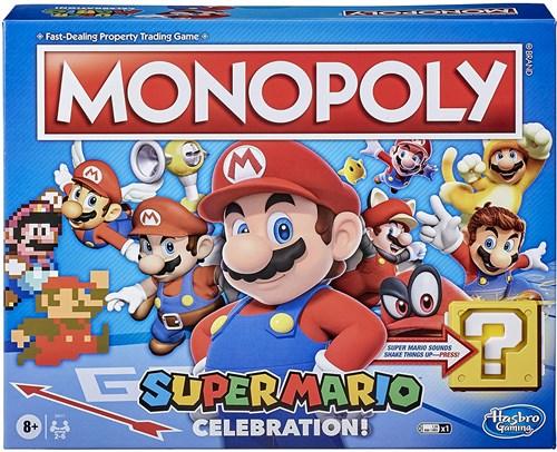 Настольная игра Монополия Супер Марио (Monopoly Super Mario Celebration)